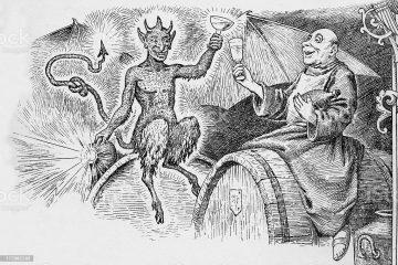 demony alkoholizmu