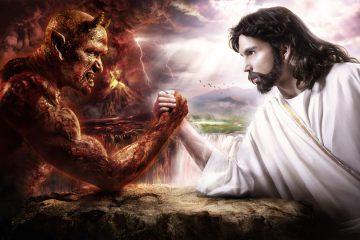 demon podaje się za jezusa