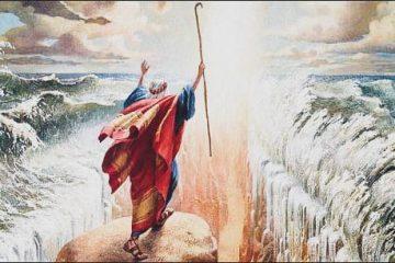 mojżesz przejscie po dnie morza czerwonego