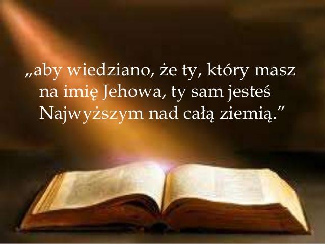 kim jest jehowa